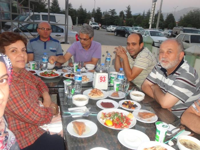 24.07.2013 tarihinde IYAŞ 'da düzenlenen iftar yemeği.